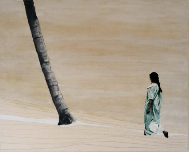 2004_indische Frau am Ufer