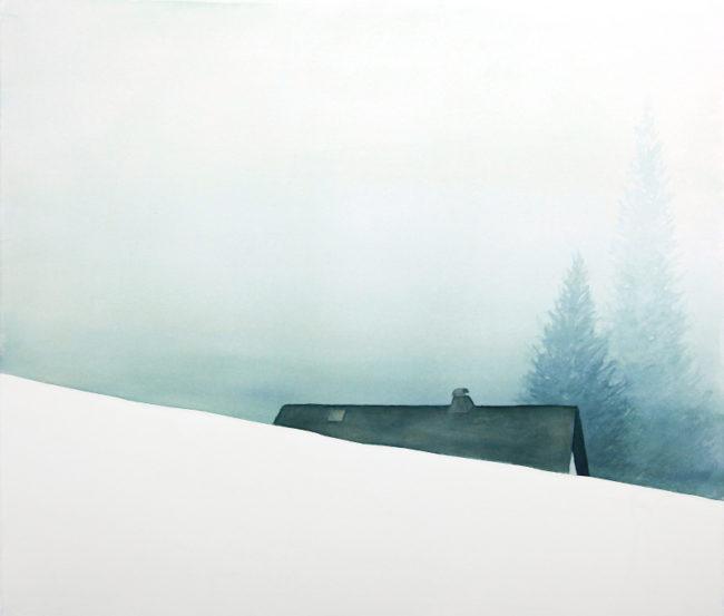 2016_Berghaus im Nebel