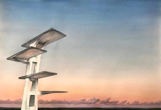 2019_verlassener Springturm